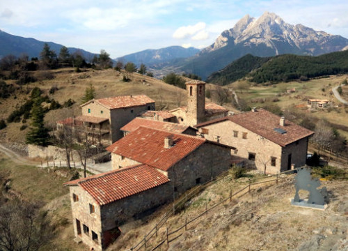 The village of Gisclareny, the smallest in Catalonia, May 12, 2019 (by Estefania Escolà)