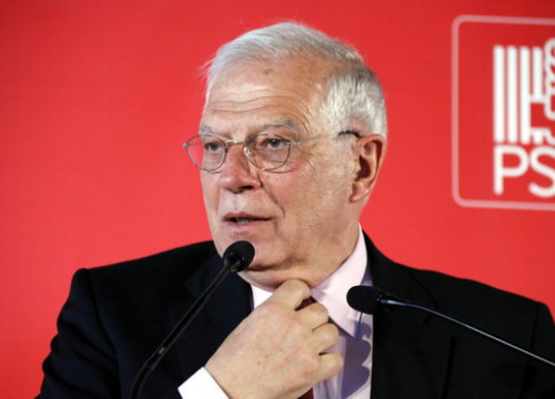 Spain's acting foreign minister Josep Borrell (by Oriol Bosch)