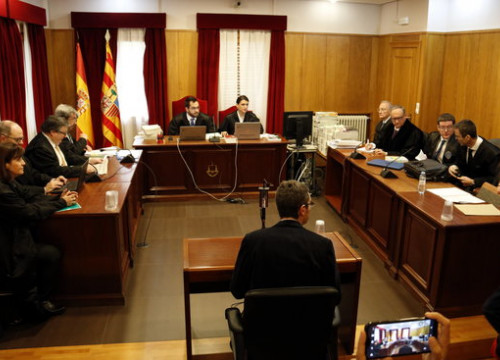 Court declarations from the curator of the Episcopal Museum in Vic during the trial related to the 111 works of art in the Museum of Lleida (by Laura Cortés)