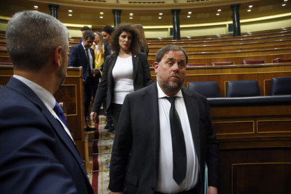 Junqueras was sentenced to 13 years behind bars (by Javier Barbancho)