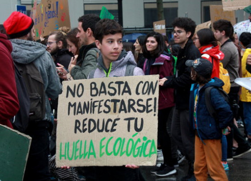 The activists in the streets will be a mix of school and university students (by Sílvia Junyent Dalmau)