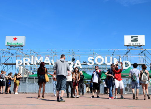 Entrance to Primavera Sound, May 30, 2019 (by Violeta Gumà)