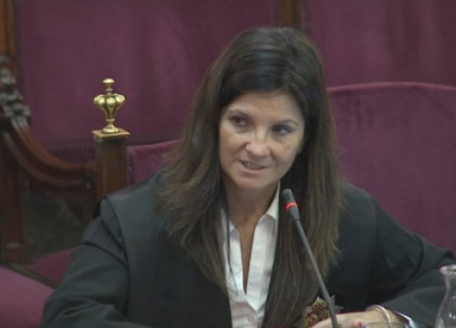 Spain's solicitor general, Rosa María Seoane, on June 4, 2019