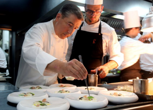 Catalan chef Joan Roca, winner of the top prize in the 2018 edition of the Best Chef Awards (by Xavier Pi)