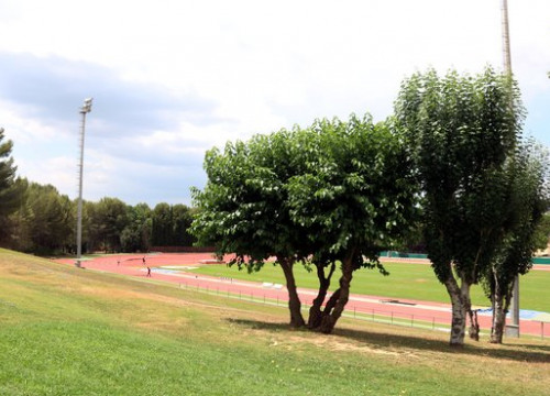 Running track at Sant Cugat High Performance Center, July 9, 2019 (by Norma Vidal)