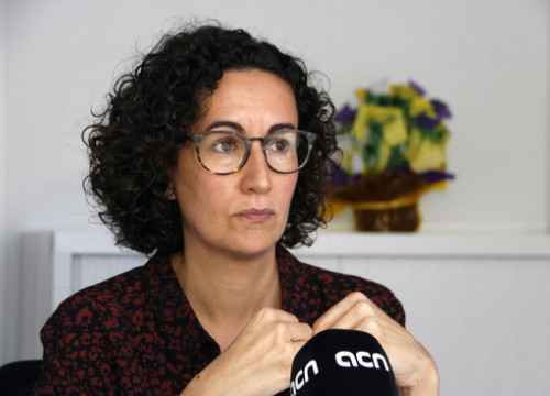 Secretary-general Rovira feels that Catalonia's best foot forward is through negotiation (Sílvia Jardí)