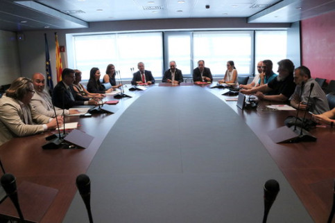 Meetings at Iberia headquarters will continue to resolve the conflict (Andrea Zamorano)