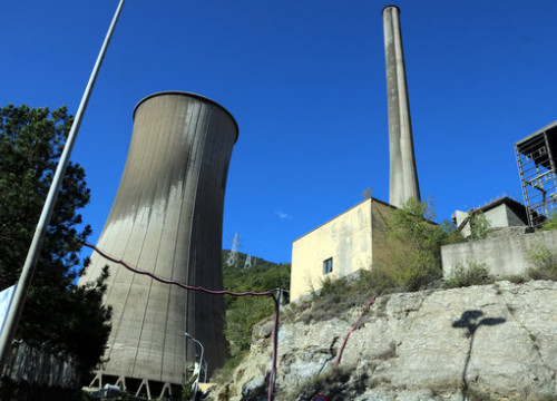 A power plant in Cercs, central Catalonia (by Estefania Escolà)