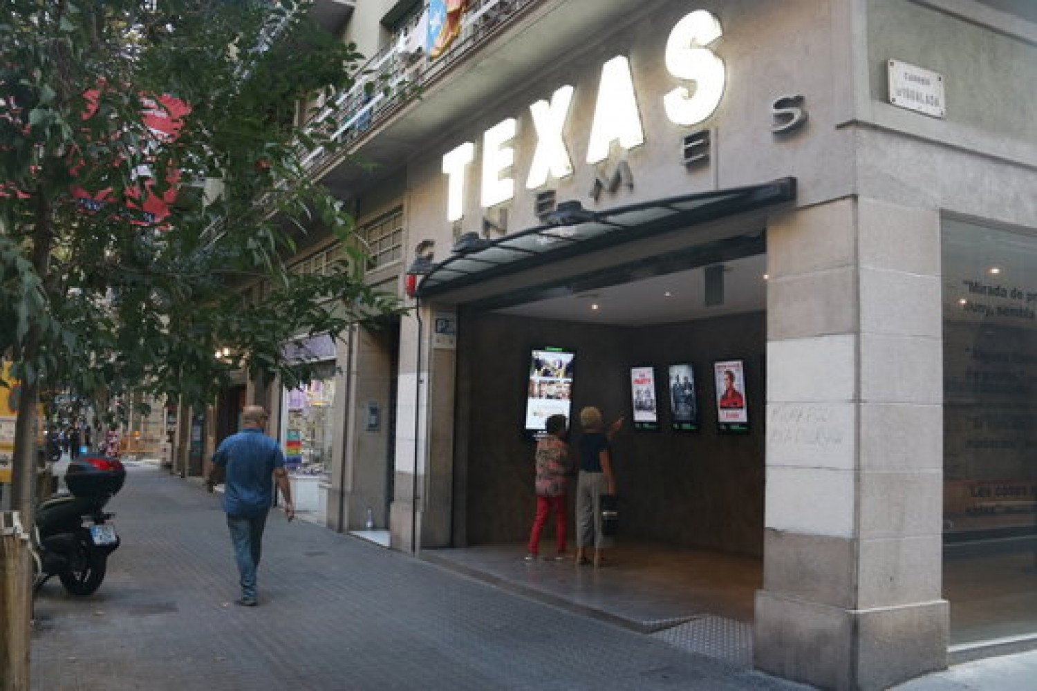 The Texas cinema, Barcelona, October 2, 2019 (by Pere Francesch)