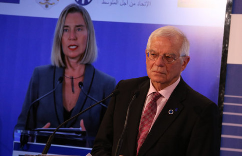 Josep Borrell is under pressure following the accusations (by Alan Ruiz)