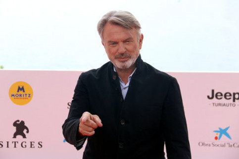 Actor Sam Neill at the Sitges Fantasy & Horror Film Festival (by Pere Francesch)
