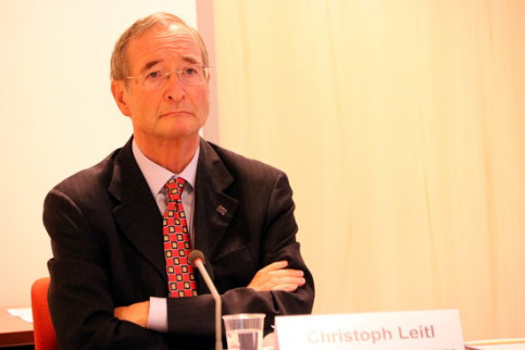 President of the European Association of Chambers of Commerce, Christoph Leitl (by Nazaret Romero)