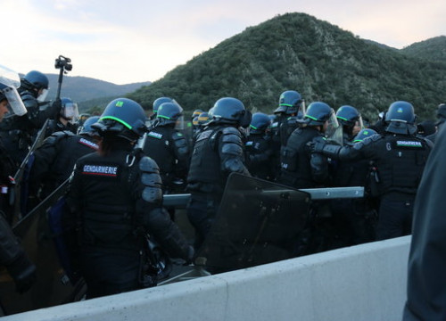 19 have been arrested so far by French and Catalan police (by Gerard Vilà)