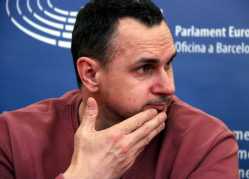 The Ukranian filmmaker Oleg Sentsov (by Alan Ruiz Terol)