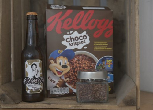 The new Rosita craft beer made with Kellogg's Choco Krispies (by Kellogg Company)