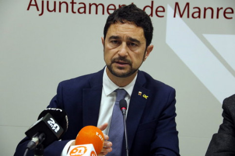 Catalan minister for Territory and Sustainability, Damià Calvet (by Gemma Alemán)