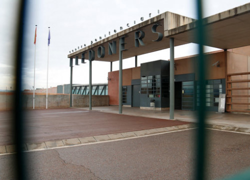 The front of the Lledoners prison (by Blanca Blay)