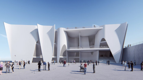 Image of the Hermitage museum project in Barcelona (by Hermitage)