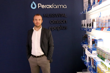 Peroxfarma CEO Joan Xiol, February 11, 2020 (by Marta Casado Pla)