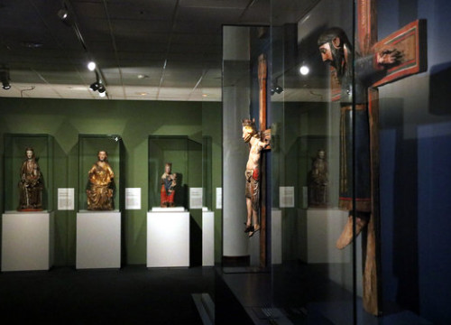 The exhibition 'North & South. Medieval art of Norway and Catalonia', in the Episcopal Museum of Vic (by Estefania Escolà)