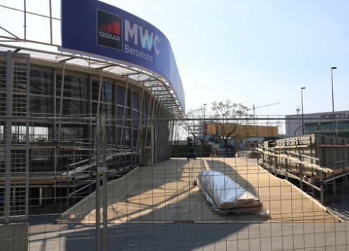 Image of the premisses where 2020 Mobile World Congress was due to take place (by Marta Casado)