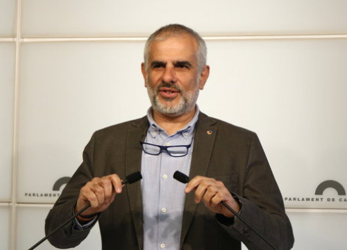Carlos Carrizosa, Cs leader in parliament, March 3, 2020 (by Sílvia Jardí))
