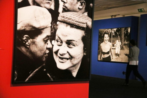 Iconic images of William Klein, in the retrospective exhibition hosted by La Pedrera. Thursday, March 5, 2020 (By Pau Cortina)