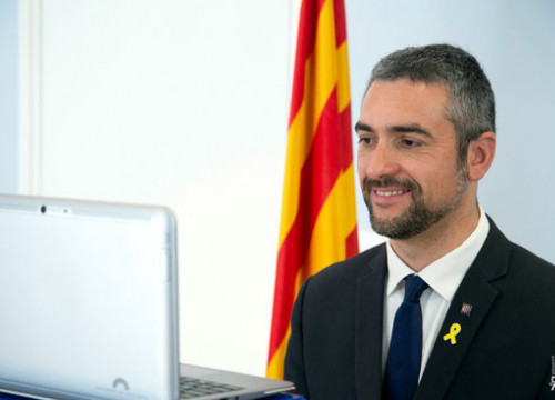 Exterior minister Bernat Solé (by Government of Catalonia)