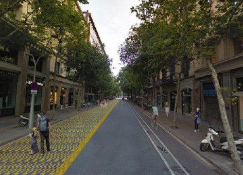 Mock image of how the Consell de Cent street will look after Barcelona city council's plans are in place (image by Barcelona city council)
