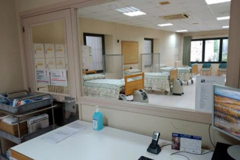 Image of the Maria Gay geriatric center in the Girona area (image courtesy of Maria Gay center)