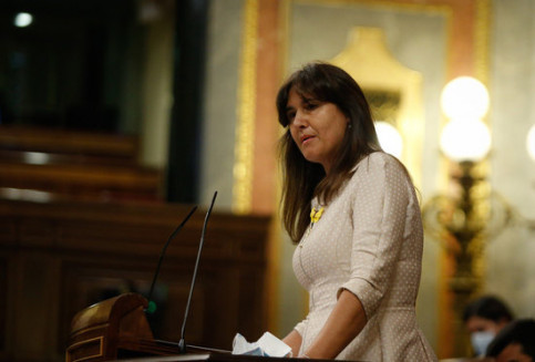JxCat spokesperson Laura Borràs in Congress, May 20, 2020 (Congress)
