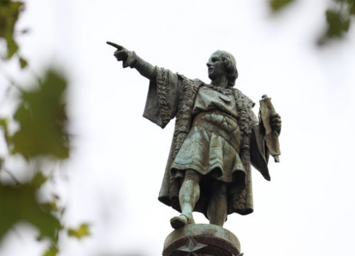 The figure of Christopher Columbus in Barcelona (by Alan Ruiz Terol)