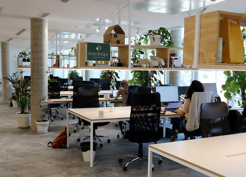 General image of an open office (by Marta Casado Pla)