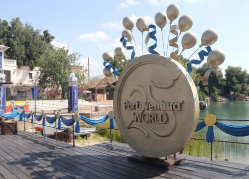 PortAventura is celebrating its 25th anniversary in an 'atypical' year. July 2, 2020 (by Eloi Tost)
