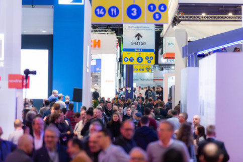 Crowds at the last edition of ISE in Amsterdam, February 2019 (by Thomas Krackl/ISE)