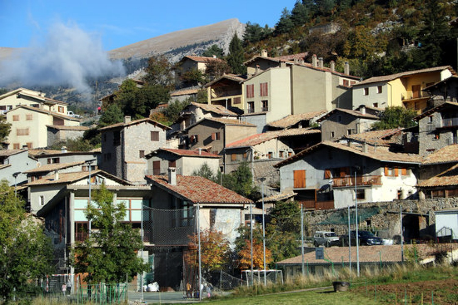 Gósol, a town in the Berguedà county (by Estefania Escolà)