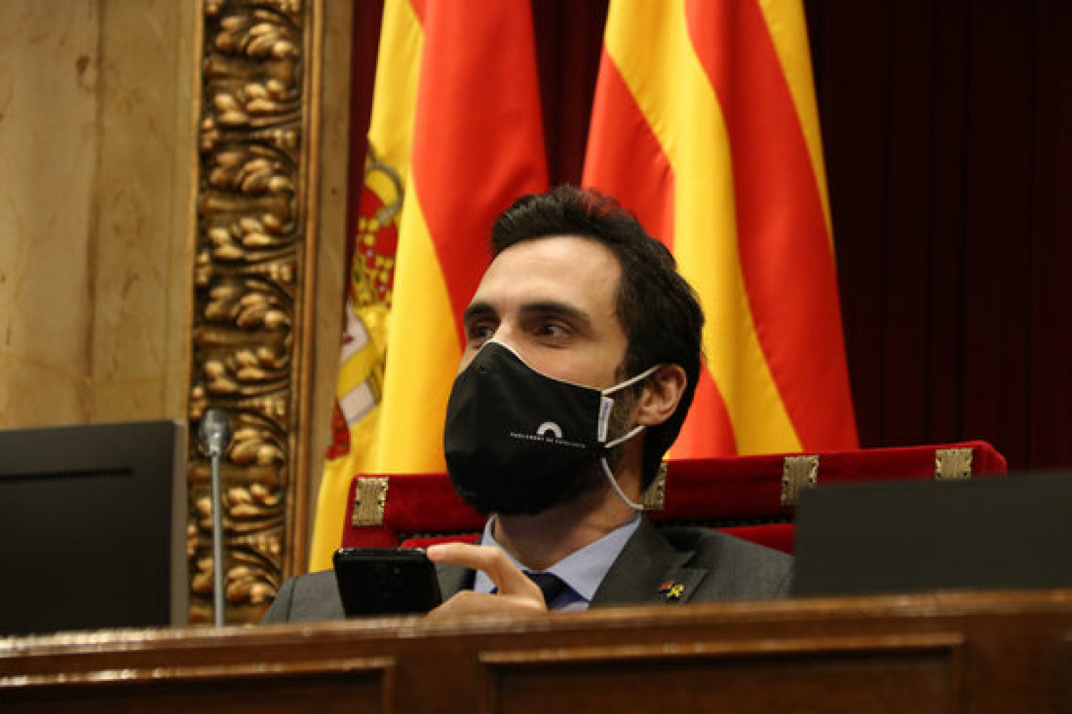 Catalan parliament speaker Roger Torrent (by Bernat Vilaró)