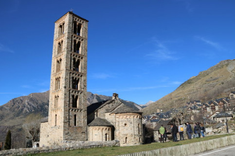 The church of Sant Climent de Taüll on the 20th anniversary of its declaration as a UNESCO World Heritage site, November 30, 2020 (by Marta Lluvich)