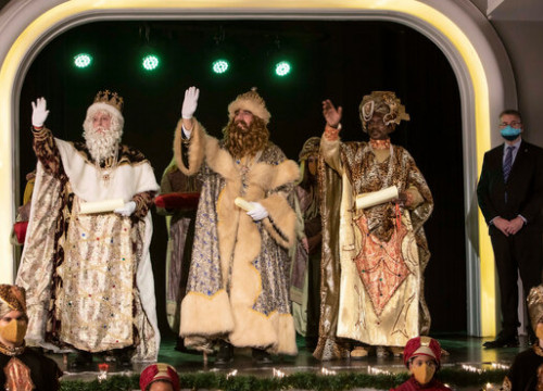 The Three Kings' arrival in Tarragona, on January 5, 2020 (by Tarragona local council)