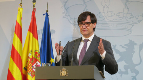 Spain's health minister Salvador Illa (by Moncloa)