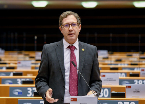 Spanish Socialist MEP Domènec Ruiz Devesa photographed during a debate in the European chamber (image by European Parliament)