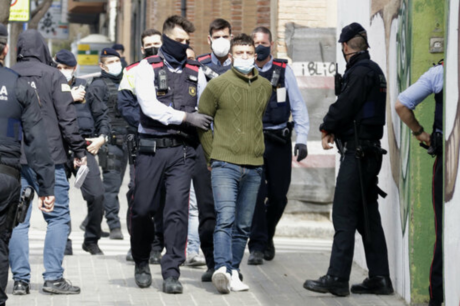 One person is arrested in Mataró in connection with a wave of altercations in Barcelona (by Jordi Pujolar)
