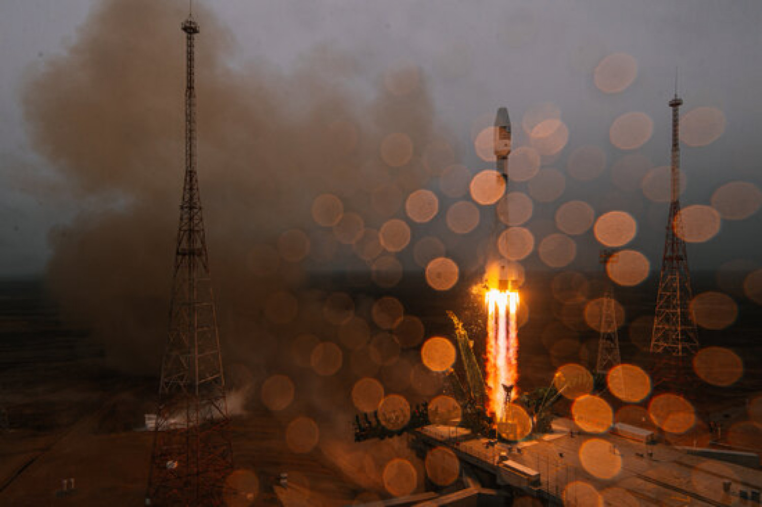 Catalonia's first nanosatellite, 'Enxaneta', launched at the Baikonur Cosmodrome in Kazakhstan (by GK Launch Services)