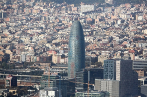 Barcelona's Torre Glòries (by ACN)