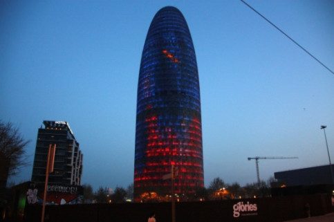 Torre Agbar, located in Barcelona's 22@ innovative district (by Josep Ramon Torné)