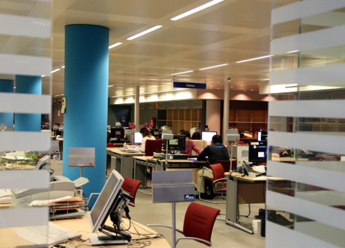 Image of a job's centre in Catalonia (by ACN)