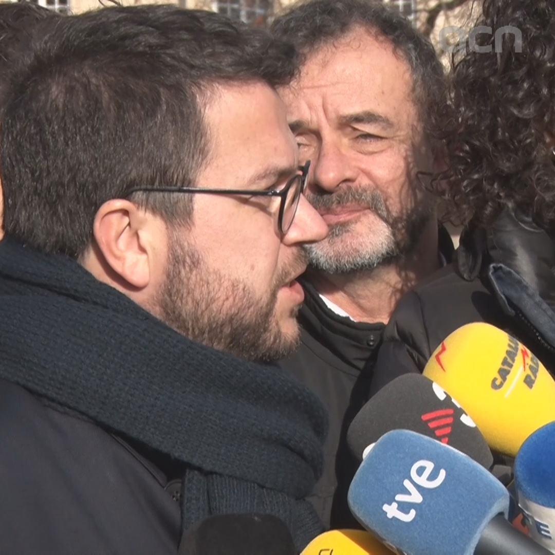 "Catalan vice president Pere Aragonès says Sánchez and his government must make ""gestures"""
