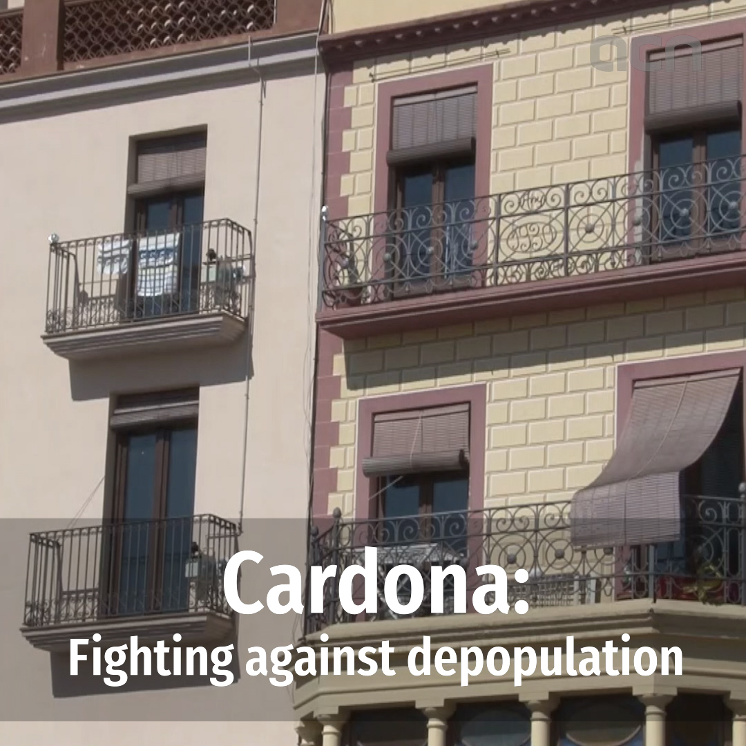 Fighting depopulation in central Catalonia
