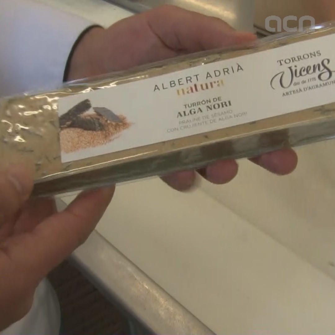 Six new varieties released by Vicens sweet company for the holiday season, while Torrons Alemany sticks to classic versions