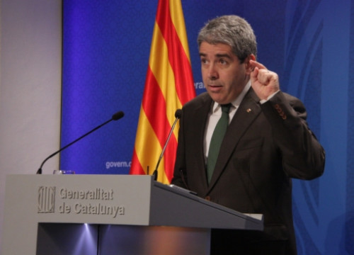 The Catalan Government's Spokesperson and Minister for the Presidency, Francesc Homs (by P. Mateos)